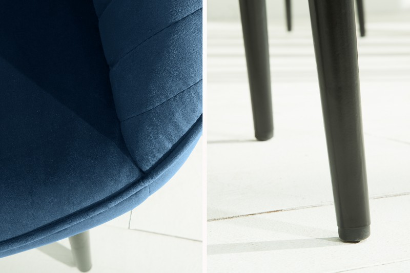 Loketní opěrka turínská židle královská modrá / 39527
