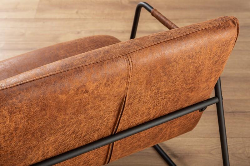 Křeslo Halifax - vintage hnědé / 39482