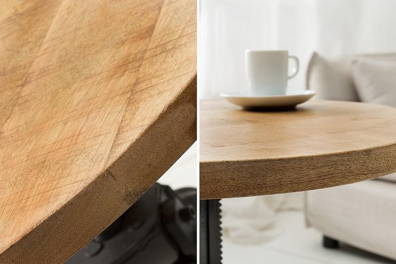 Konferenční stolek Engineer 50cm Mango / 38723