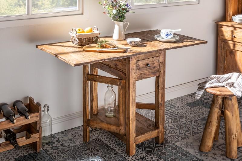 Jídelní stolek skládací Hemingway 119cm mahagon / 39553