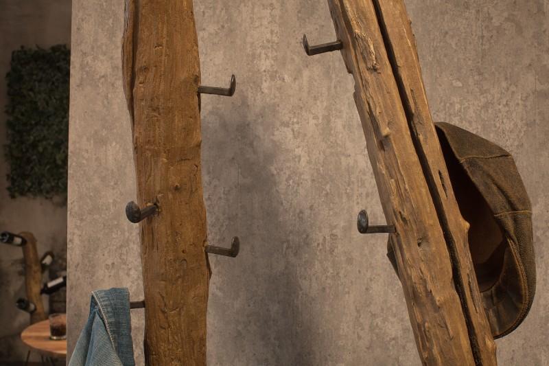Stojan na kabáty Manaos 200cm - teak / 39557