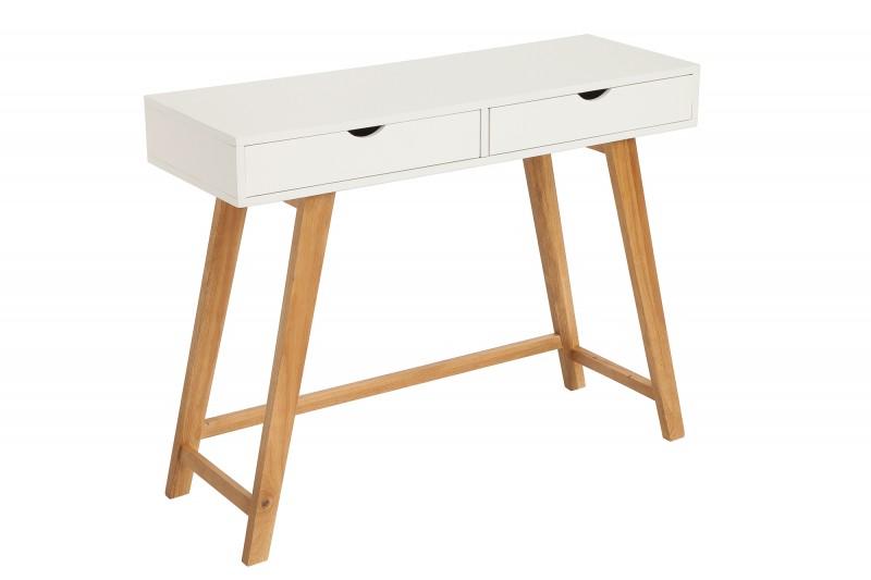 Toaletní stolek Scandinavia 100cm x 35cm - bílý / 38813