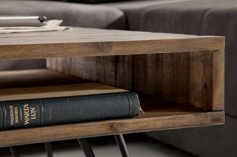 Konferenční stolek Scorpion 110cm x 60cm - šedý akát / 38830