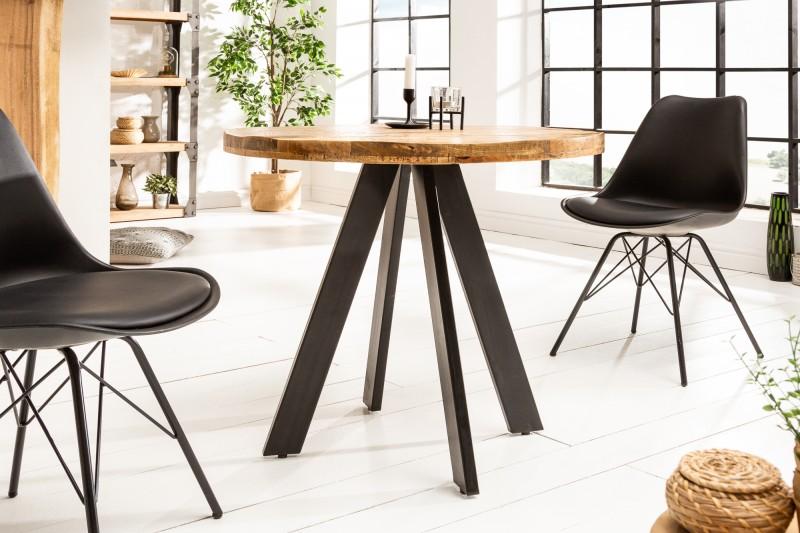 Jídelní stůl Hobart Round 80cm - přírodní mango / 39400