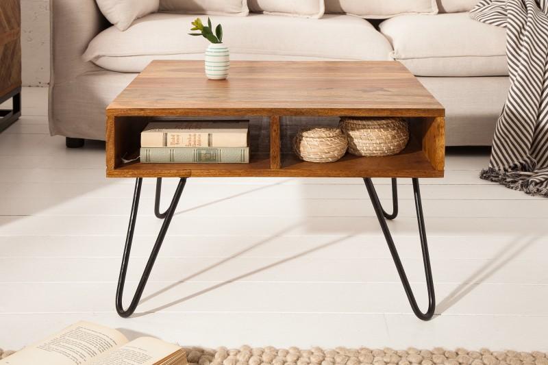 Konferenční stolek Scorpion 60cm Sheesham / 39384