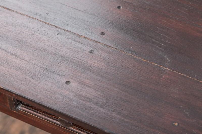Pracovní stůl Hemingway 120cm x 58cm - mahagon / 39554