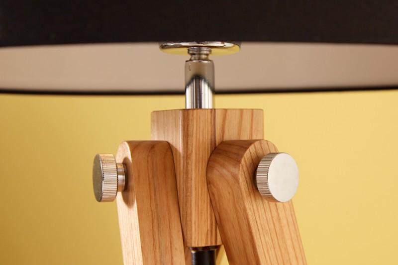 Stolní lampa Stativ 64cm černý retro / 39678
