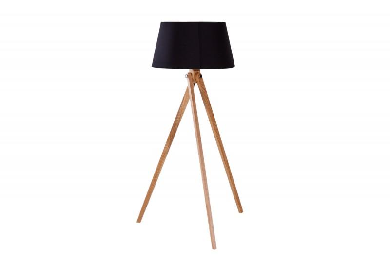 Stojací lampa Retro 155cm - černá / 39676