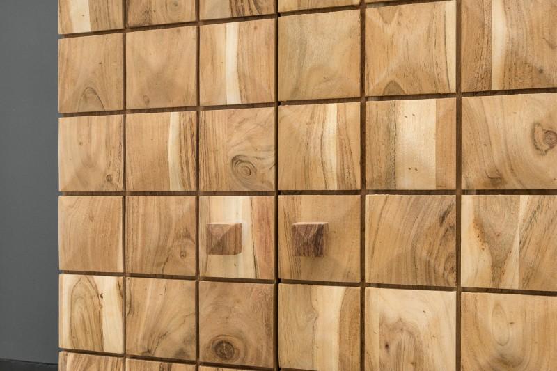 Barová skříňka Havana 130cm x 90cm - akát / 39750