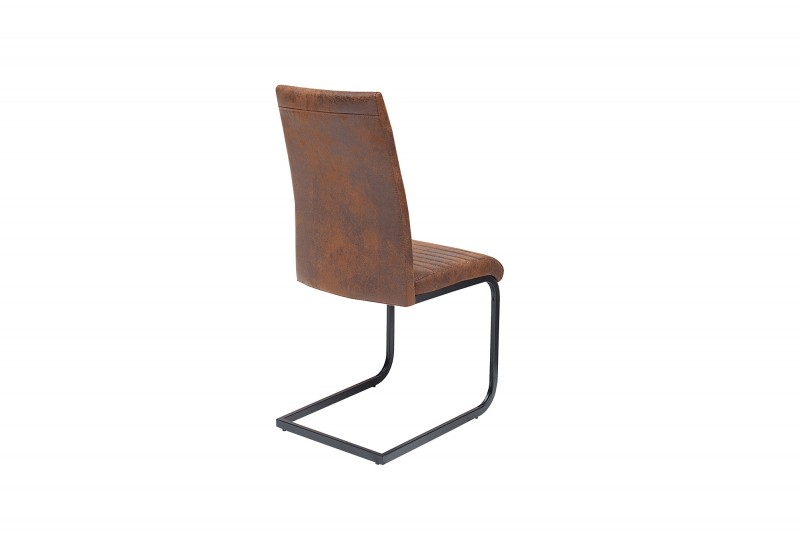 Jídelní židle Chloe - starožitná hnědá / 39377
