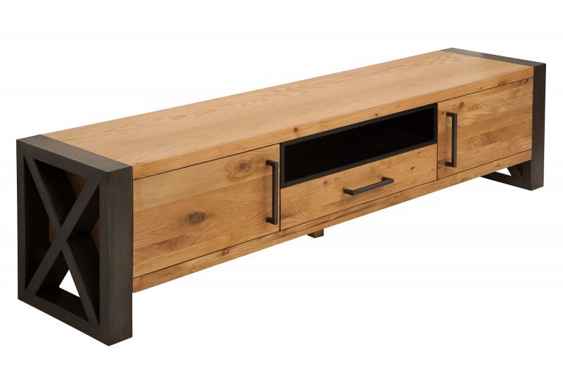 Televizní stolek Etrusco 200cm - divoký dub / 38810