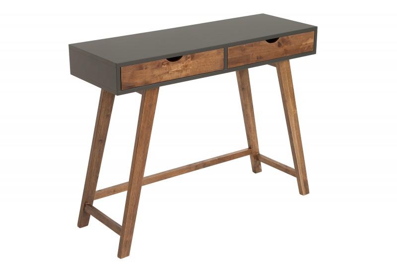 Pracovní stolek Scandinavia 100cm x 35cm - MDF, šedý / 38814