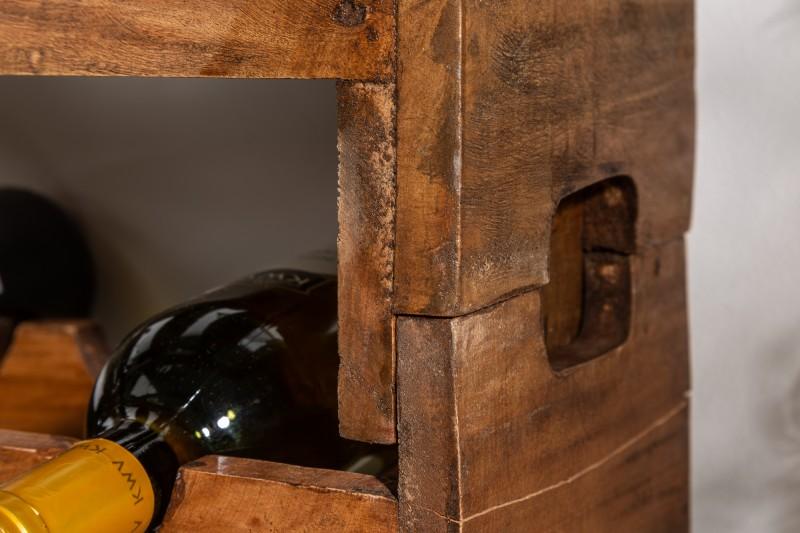 Stojan na víno Nolan - set 2ks - mahagon / 39556