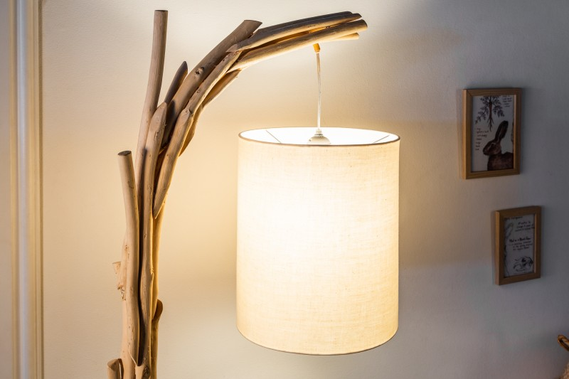 Stojací lampa Driftwood Wild Nature 163cm / 39636
