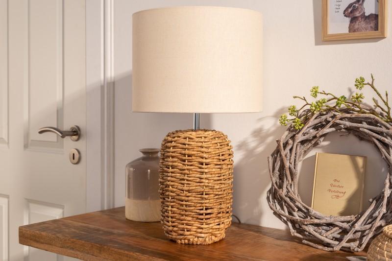 Stolní lampa Nature 51cm - pletená / 39641