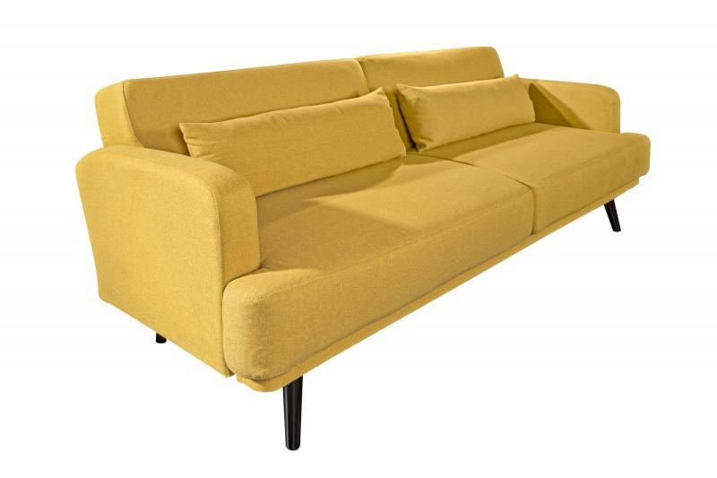 Pohovka Freja 210cm - žlutá / 39466
