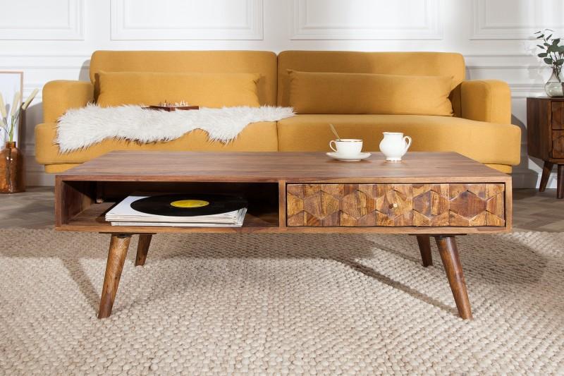 Konferenční stolek Viamo 110cm x 60cm -  Sheesham / 39743