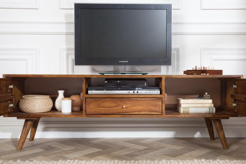 Televizní stolek Mystic Living 140cm Sheesham / 39744