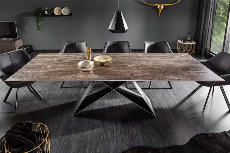 Jídelní stůl Centaurus 180-260cm x 100cm - rez / 39561