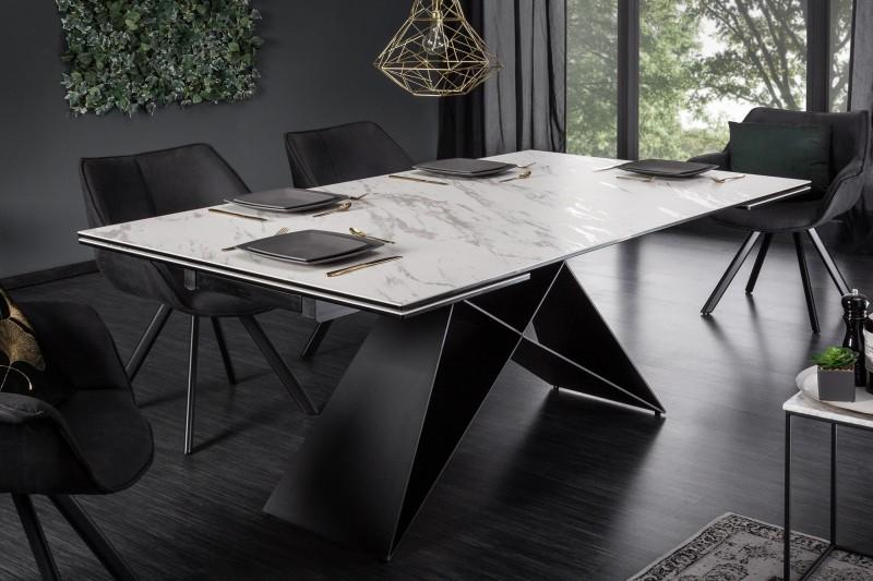 Jídelní stůl Centaurus 180-260cm x 100cm - mramor / 39562