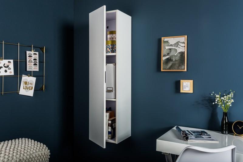 Skříňka nástěnná Supreme 120cm vertikální bílá / 38669