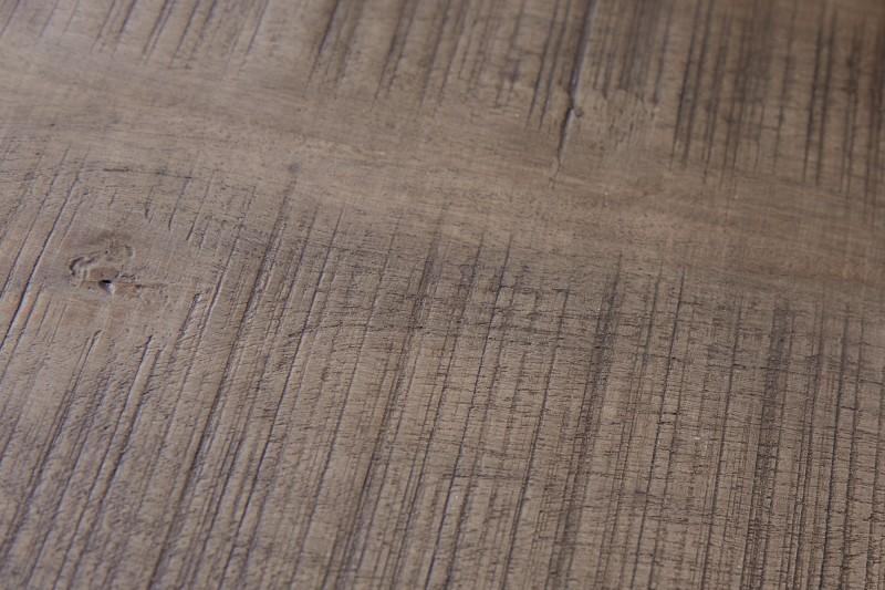 Tovární stolička 40cm šedá kolečka z akátu / 39583