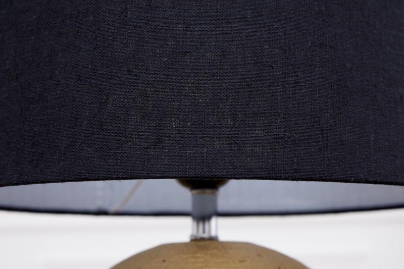 Stolní lampa Elegance 43cm - zlatá, černá / 39642