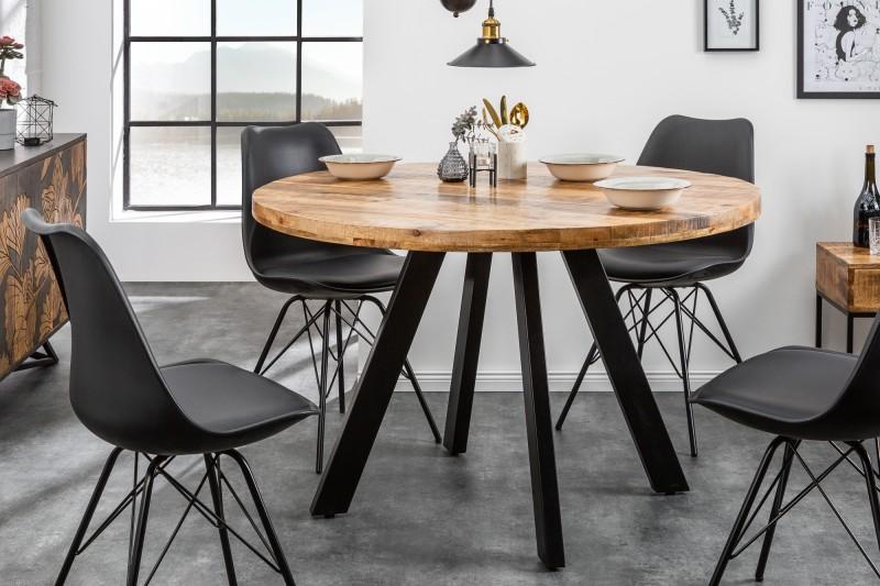 Jídelní stůl Hobart Round 120cm - přírodní mango / 39584 - 1ks skladem