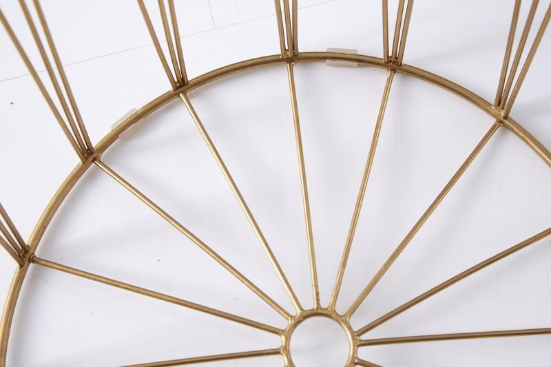 Konferenční stolek Storage II - tyrkysová, zlatá / 39497