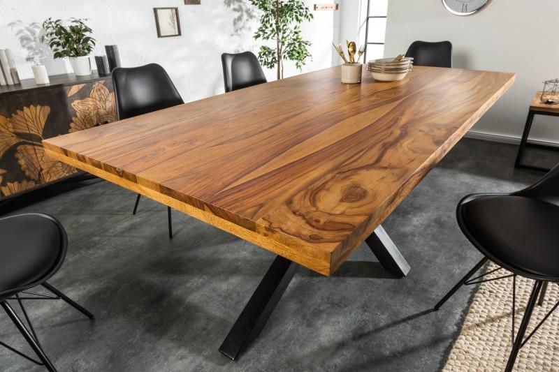 Jídelní stůl Bamako 200cm x 100cm - Sheesham / 39446
