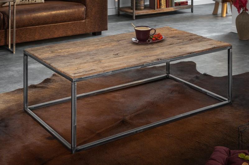 Konferenční stolek Dothan 110cm x 60cm - recyklované dřevo  / 39587