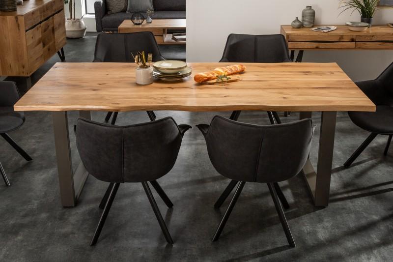 Jídelní stůl Living Edge 180cm divoký dub 35mm / 39436