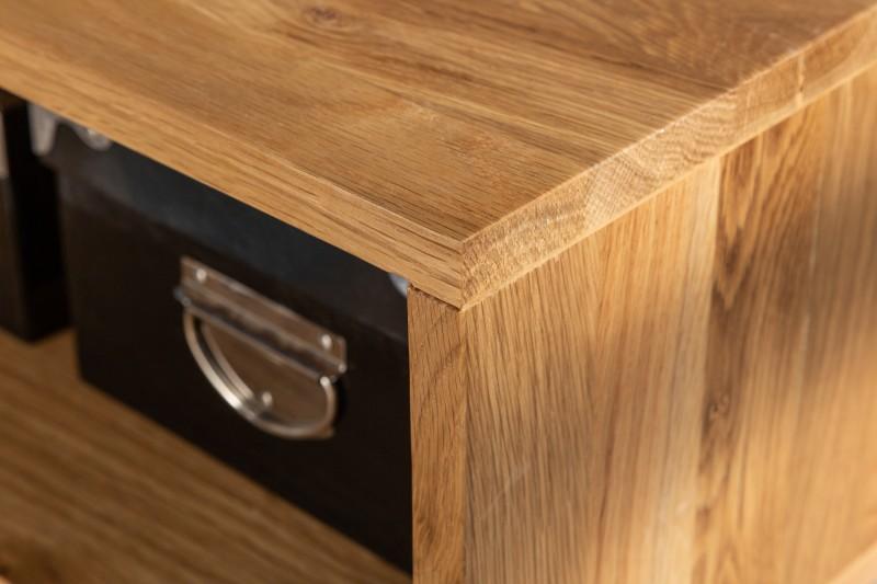 Konferenční stolek Living Edge 110cm divoký dub / 39433