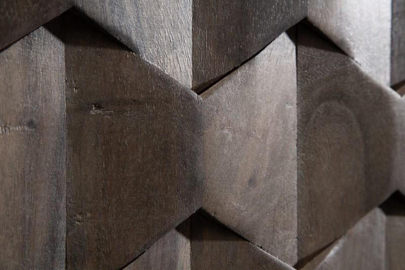 Příborník Viamo 145cm x 75cm -  šedý akát / 39741