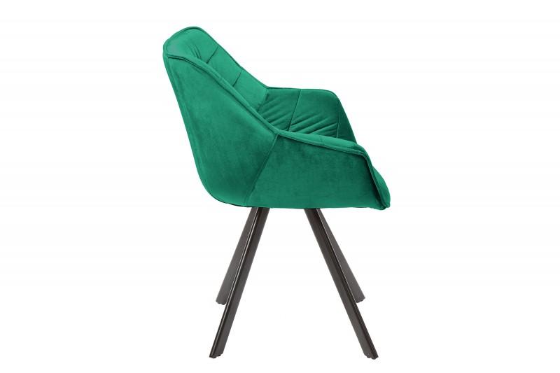 Židle Dutch Comfort smaragdově zelená / 39475