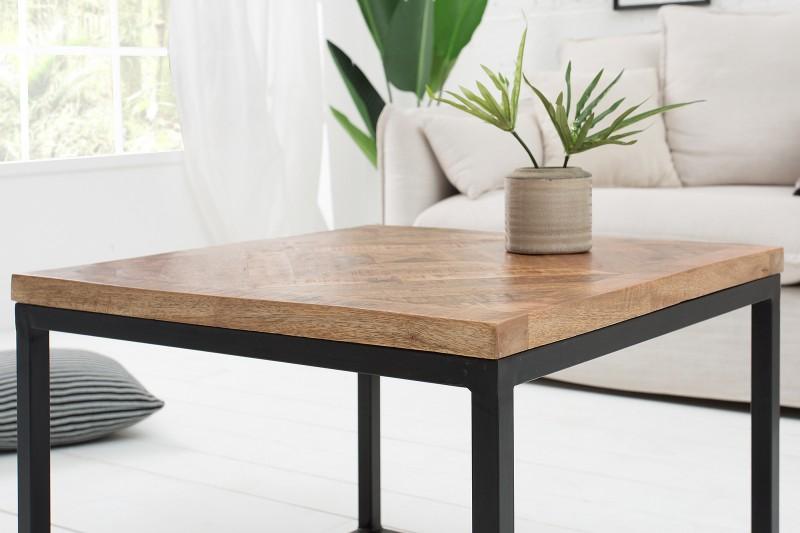 Konferenční stolek Dean 60cm - přírodní mango / 39787
