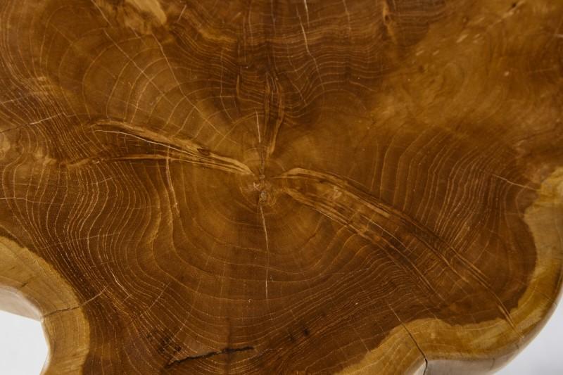 Konferenční stolek Roots 50cm x 40cm - teak / 38237