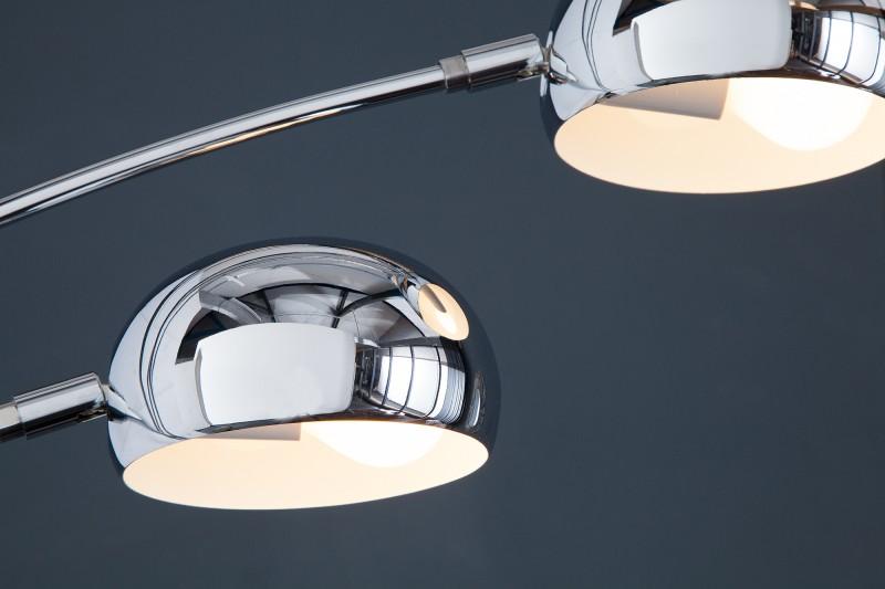Stojací lampa Five Lights - chrom / 7365
