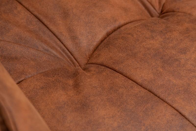 Jídelní židle Orlando - vintage hnědá / 39838
