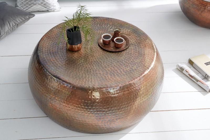 Konferenční stolek Sidon 80cm - plamenná měď / 39536