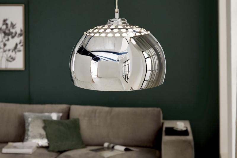 Závěsná lampa Violet ll - chrom / 5862