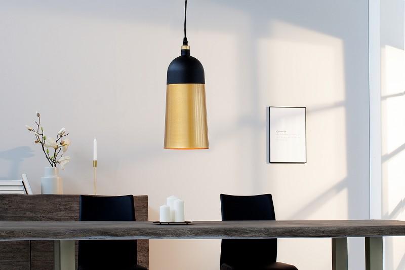 Závěsná lampa Modern Chic I - černá, zlatá / 39967