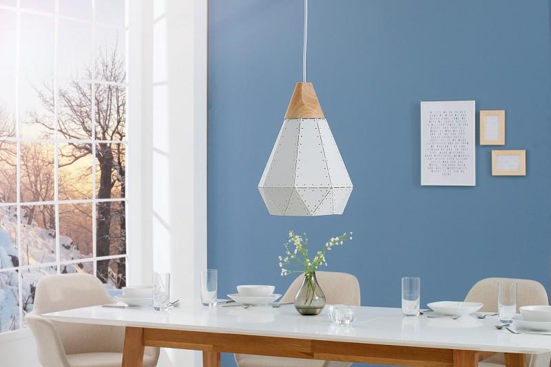 Závěsná lampa Clara I - bílá / 39970