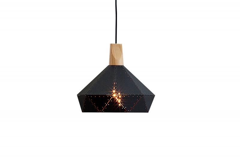 Závěsná lampa Clara II - černá / 39973