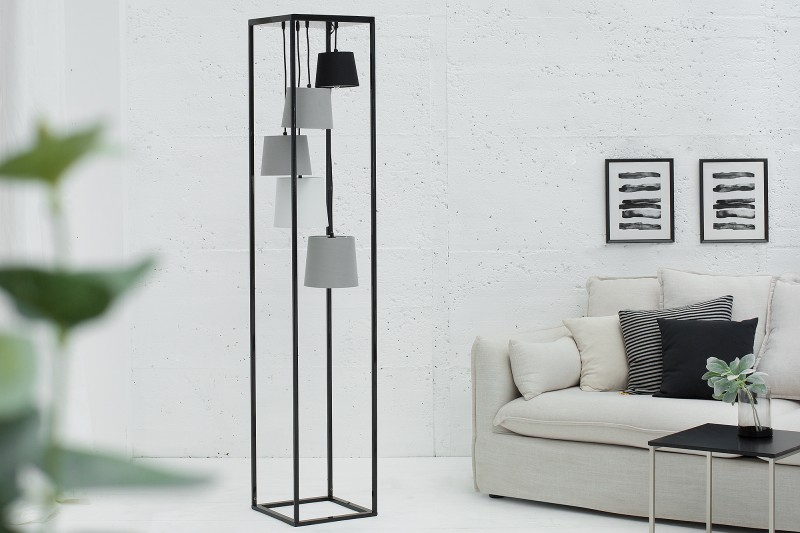 Stojací lampa Friida 180cm - vícebarevná / 38685