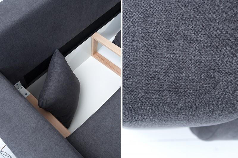 Pohovka Tailors 255cm - tmavě šedá / 37979
