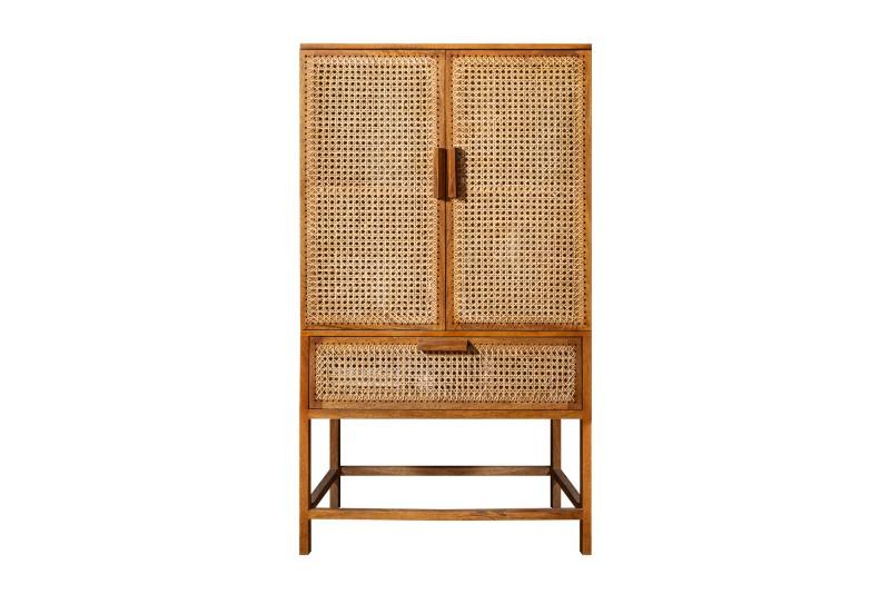 Skříň Bamboo Lounge 140cm Mango / 39821