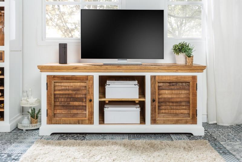 Televizní stolek Long Island 160cm x 70cm - Mango / 39777