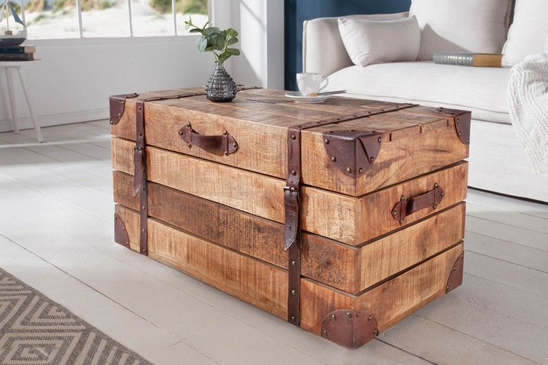 Konferenční stolek Treasure 82cm x 41cm - mango / 39665