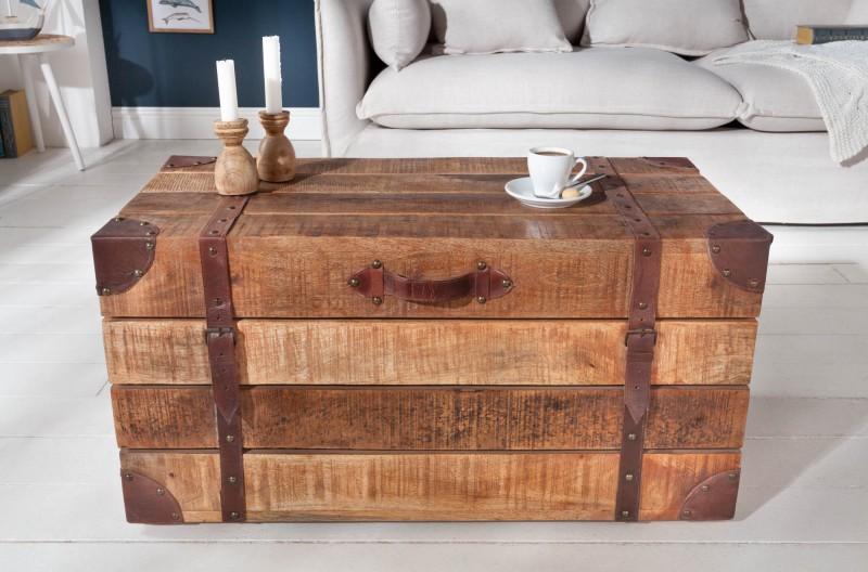 Konferenční stolek Factory Loft 82cm přírodní mango / 39665